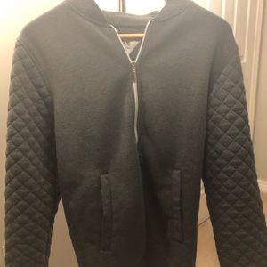 Good Condition men's BX zip up sweatshirt SZ S!!